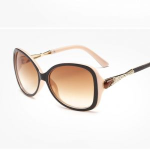 Sunglasses, Spectacles (Women's) - Fashion Crystal Stone Frame Sunglasses Women- REFUfaf0f1ff6cd6441