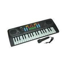 Battery Operated Toys - Sk Web 37 Keys Musical Electronic Keyboard Piano With Mic