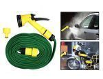 Hardware, Tools - Multi Functional Water Spray Gun With 10 Meters Hose Pipe