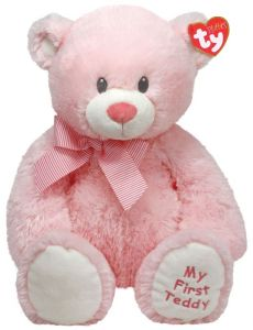 Ty-sweet Baby Pink - 15 Inch Pink Bear Soft Toy