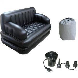 Bestway Large Inflatable Sofa Cum Bed - 5 In 1 (free Pump )(limited Offer )