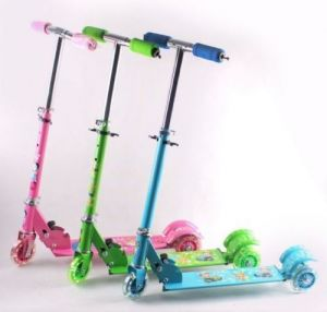 Kids Scooty Foldable 3 Wheels Mini Scooter For Children