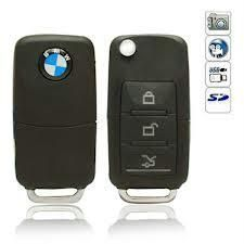 Mini Bmw Car Remote Key Chain Dvr Spy Camera Video&audio,external Memory,hi