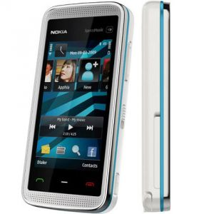 Nokia 5530 Xpress Music Mobile Phone Body (Silver Blue)(Housing Only)