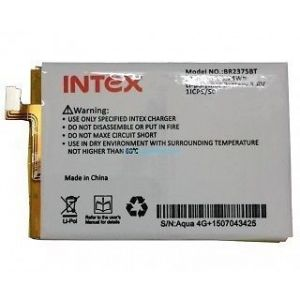 Battery for mobile - Intex Aqua 4G Plus Li Ion Polymer Replacement Battery BR2375BT by Snaptic