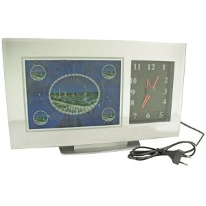 Fashionable Table Wall Desk Night Clock Watches Without Alarm - 129