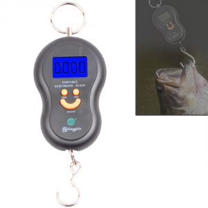 50kg Pocket Digital Luggage Fish Hook Hanging Weight Weighing Scale - 33