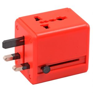 All-in-One UK / US / AU / EU Plug Universal Travel Adapter 250V 2200W 10A Max (Code - UN AD 08 A)