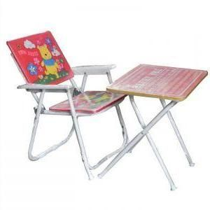 Multipurpose Table Chair Set For Kids - Strong And