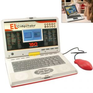 80 Activities Electric English Learner Kids Educational Laptop Toys - N20