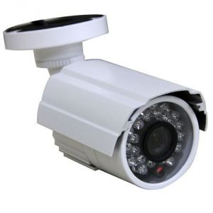 Bullet Night Vision Cctv Camera Dvr With Memory Card Slot Remote