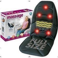 Body Massagers - Car Seat Full Length Massager Cushion, Home, Car Back Massager