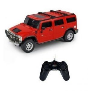 Ksr Etrade Remote Controlled Small Red Car Hummer H2 Suv