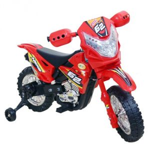 Wheel Power Baby Battery Operated Ride On Power Ranger Bike Zp3999a Red