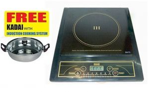 Kitchen Utilities, Appliances - Skyline Induction Cooker With Steel Kadai VI - 9052