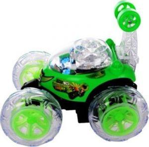 Dinoimpex Ben 10 Rmote Control Green Stunt Car