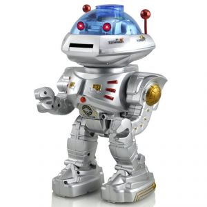 Shopmefast Space Walker Shooter Intelligent Robot (silver)