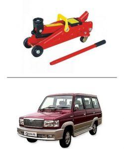 Autostark 2 Ton Professional Trolley Hydraulic Jack (red) For Toyota Qualis