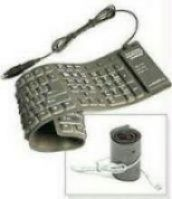 Keyboards, Mouse - Full Size Flexible Keyboard For Laptop & Desktop