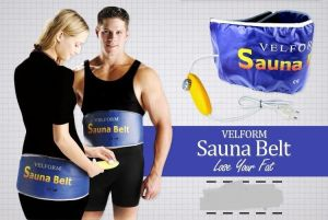 Sauna Vibration Slimming Body Massage Belt Weight Loss Massager Belt