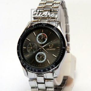 Mens' Watches   Round Dial   Metal Belt   Analog - Chrono Wrist Watch For Mens