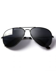Trendy Aviator Style Uv Protected Sunglasses Without Hardcase