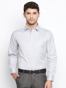 Casual Shirts (Men's) - Solemio Grey Shirt For Mens (Code - S18SH1097ENV)