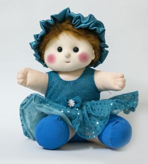 Buy Baby Doll Girl Chamki Blue Color by Lovely Toys online