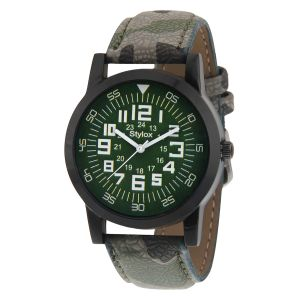 Buy Stylox Classic Green Dial Watch Online Best Prices In India