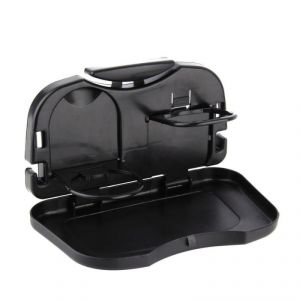 Foldable meal tray