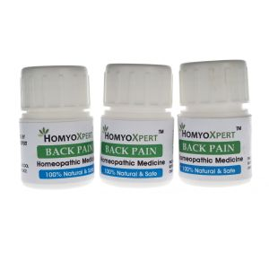 Buy Homyoxpert Back Pain Homeopathic Medicine For One Month online