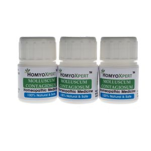 Buy Homyoxpert Molluscum Homeopathic Medicine Contagiosum For One Month online