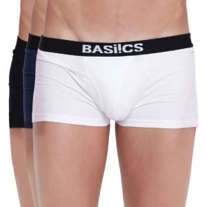 Buy Hot Hunk Trunk Basiics by La Intimo (Pack of 3 ) online