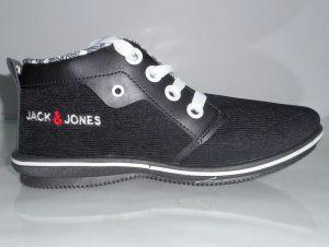 "Camro Brown Canvas Sneakers For Men""s"