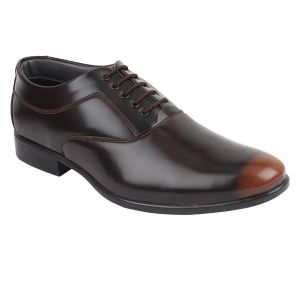 Buy Guava Shaded Brown Derby Shoes for Men online