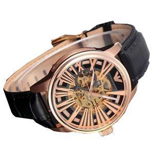 4fa68561c3c2f Buy Imported Emporio Armani Men's Ar4629 Meccanico Black Skeleton Dial Watch  online