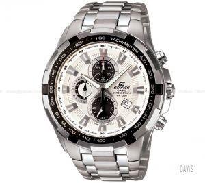 806a75478e08d6 Buy Casio Whie Dial Silver Chain Watch For Men Online | Best Prices ...