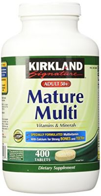 Buy Kirkland Signature Adults 50 With Mature Multi 400 Tablets online