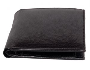 Buy Pe Mens New Style Money Purse Black Pu Leather Wallet online