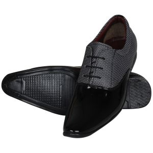 d1034e5d36 Buy Black Formal Shoes For Men from Agra Online | Best Prices in India:  Rediff Shopping