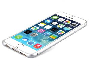 Buy Apple iPhone 6 Plus Ultra Thin Aluminium Bumper Silver online