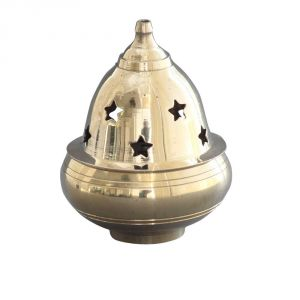 Buy Brass Kuber Goblet Diya / Decorative Golden Pooja Deepak online