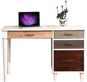 Afydecor Modern Writing Desk With Round Tapered Legs(Product Code)_3100