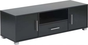 Afydecor Contemporary Entertainment Unit With Sleek Laminate Top(Product Code)_3171