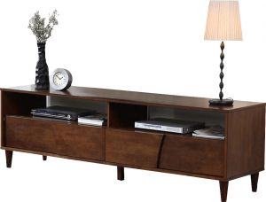 Afydecor Modern Large Entertainment Unit With Flush Drawers(Product Code)_3176