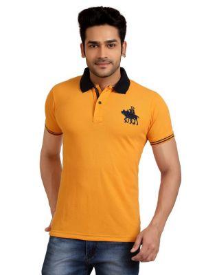 07c9576f ... cheapest goplay light orange cotton matti polo t shirt for mens code  gp1010es d5e3a df40b