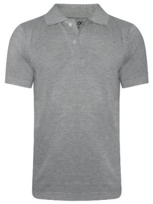 Buy Tangy Men Grey Polo T-Shirt online