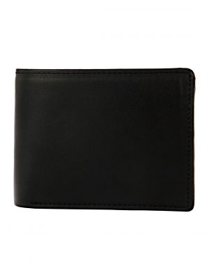 Buy Jl Collections Men's Black Genuine Leather Wallet (13 Card Slots) online