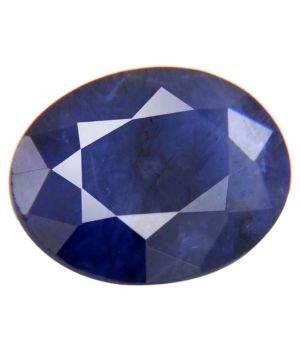 Buy Ratna Gemstone 4.50 Carat Certified Natural Blue Sapphire / Neelam Gemstone With Best Quality online