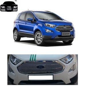 Buy Trigcars Ford Eco Sport Car 2017 Front Grill Chrome Plated online
